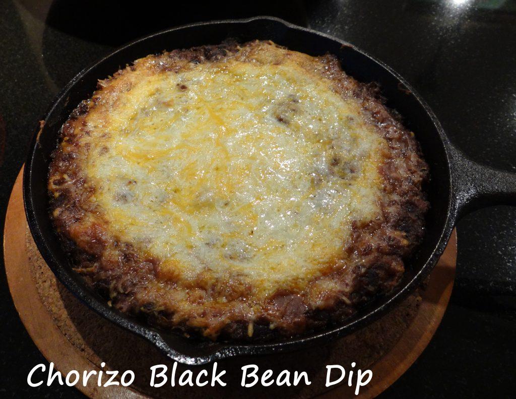 Chorizo & Black Bean Dip